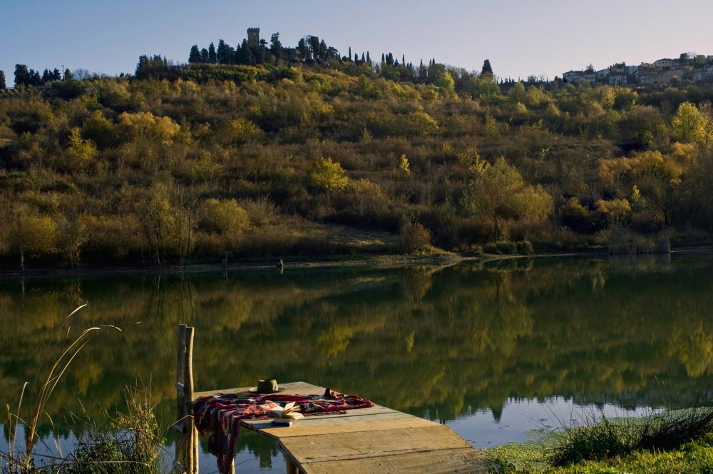 Lake at Castello Sonnino