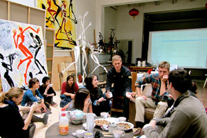 JYM students at art studio