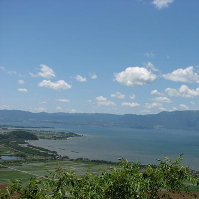 View Over Lake Biwa