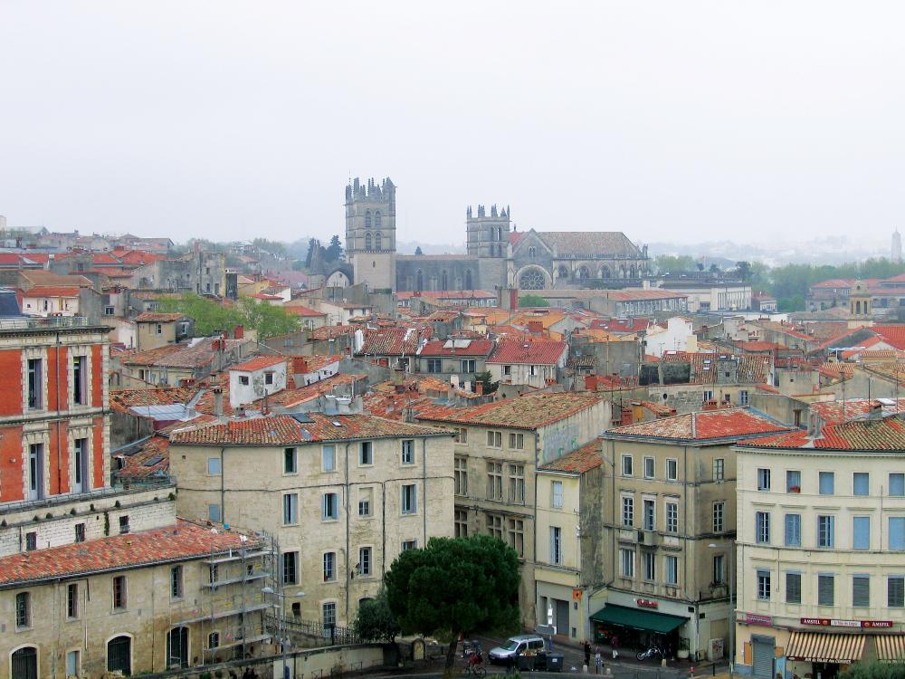 Montpellier skyline