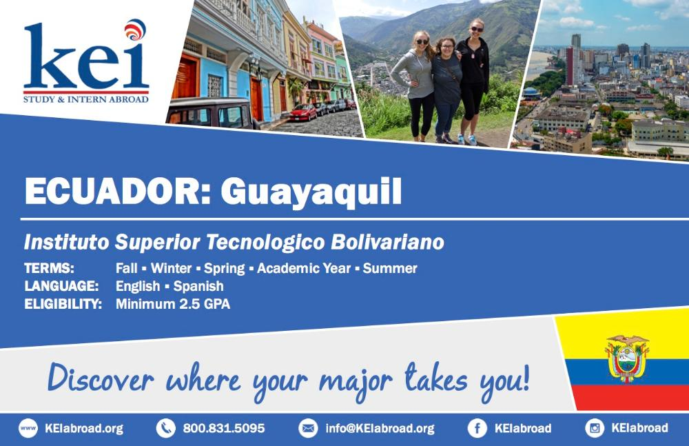 Ecuador Flyer 2018 (Side 1)