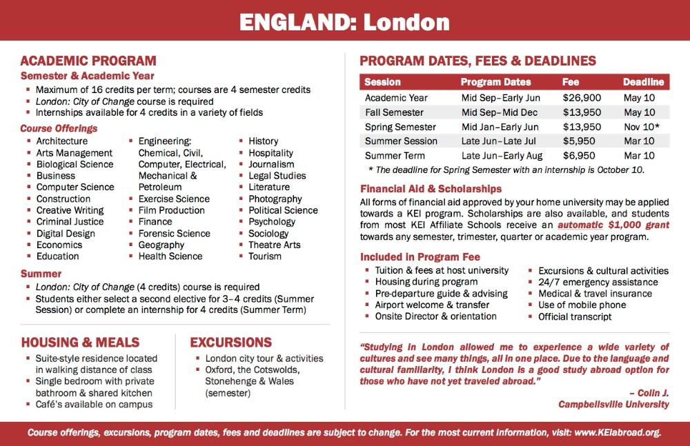 England Flyer 2018 (Side 2)