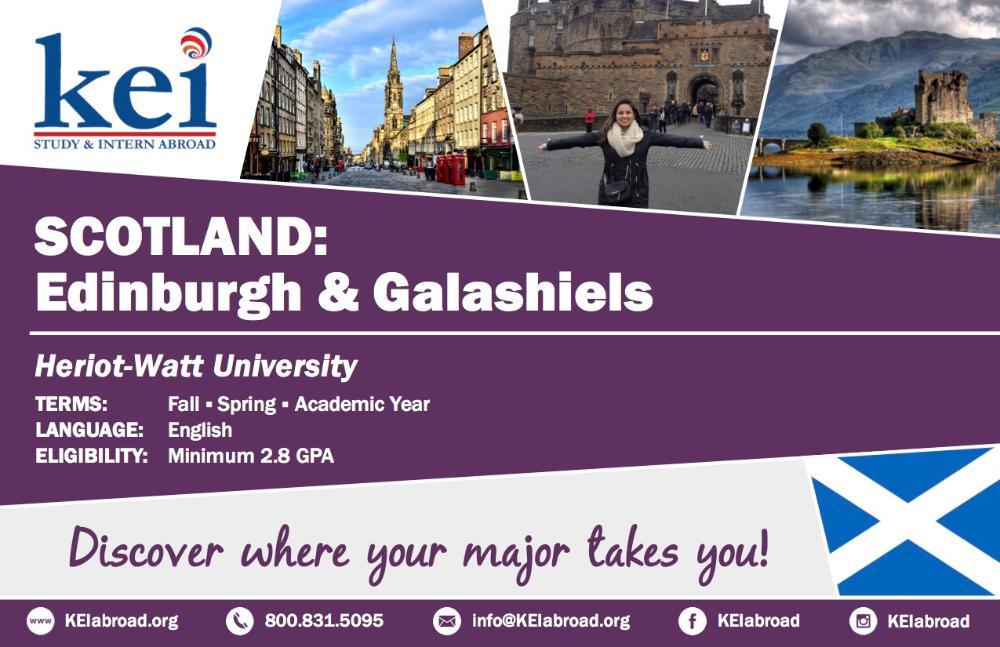 Scotland Flyer 2018 (Side 1)
