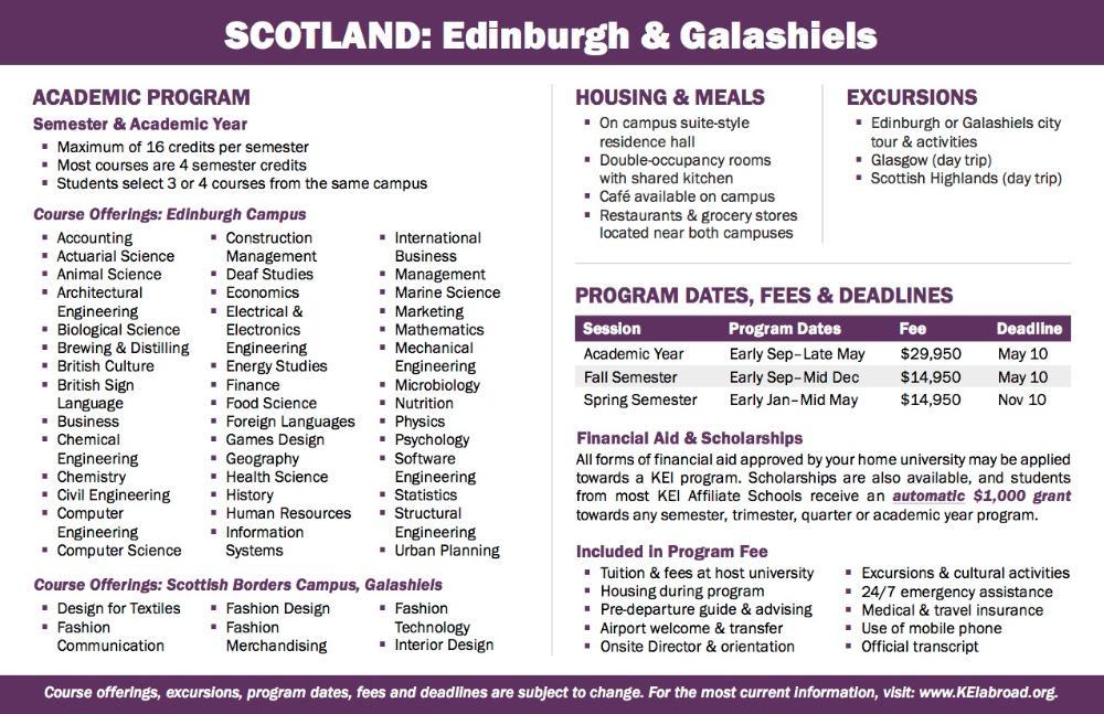 Scotland Flyer 2018 (Side 2)