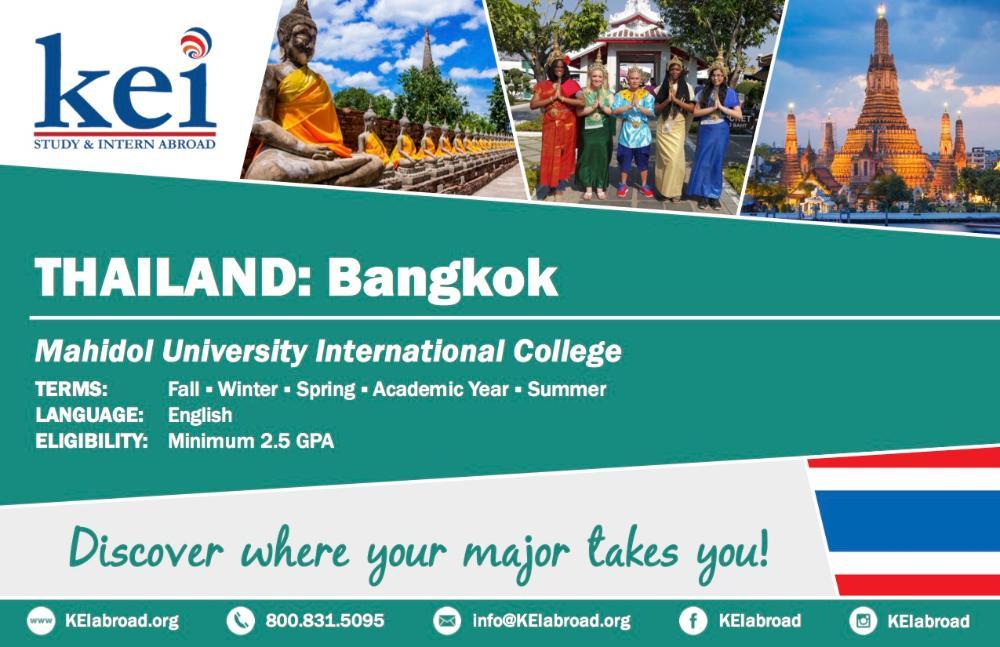 Thailand Flyer 2018 (Side 1)