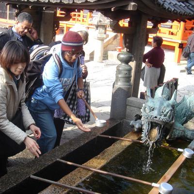 Temple sightseeing