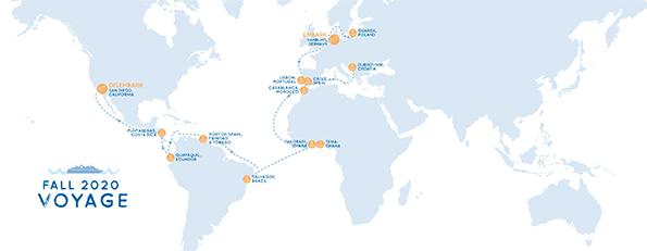 Voyage Fall 2020 Map