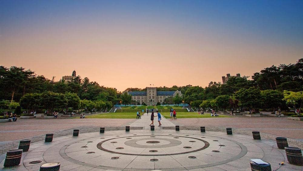 Korea University campus