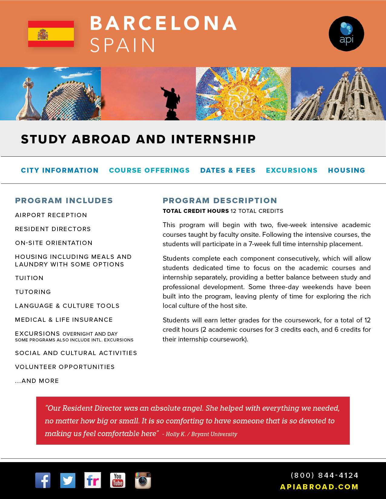 Study Abroad and Intern BCN