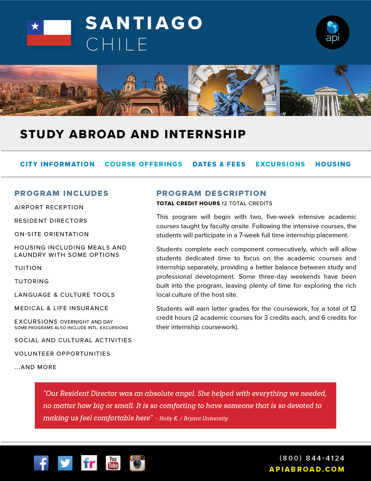 Study Abroad and Intern Chile