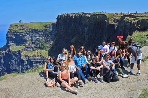 Dublin interns Cliffs of Moher