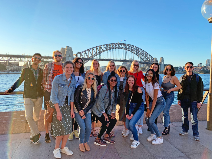 Sydney welcome event