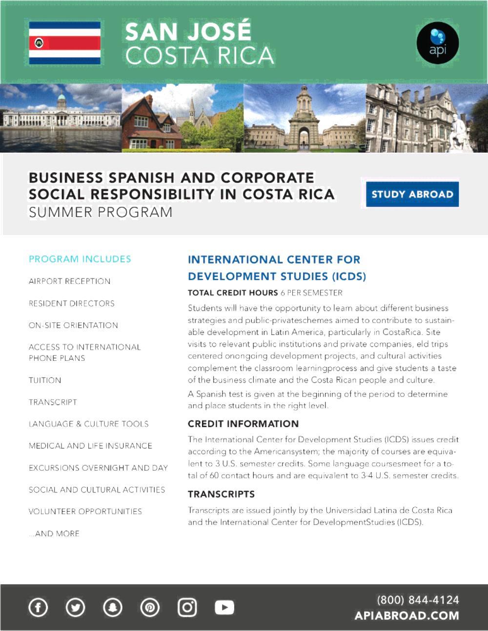 ICDS Business Spanish