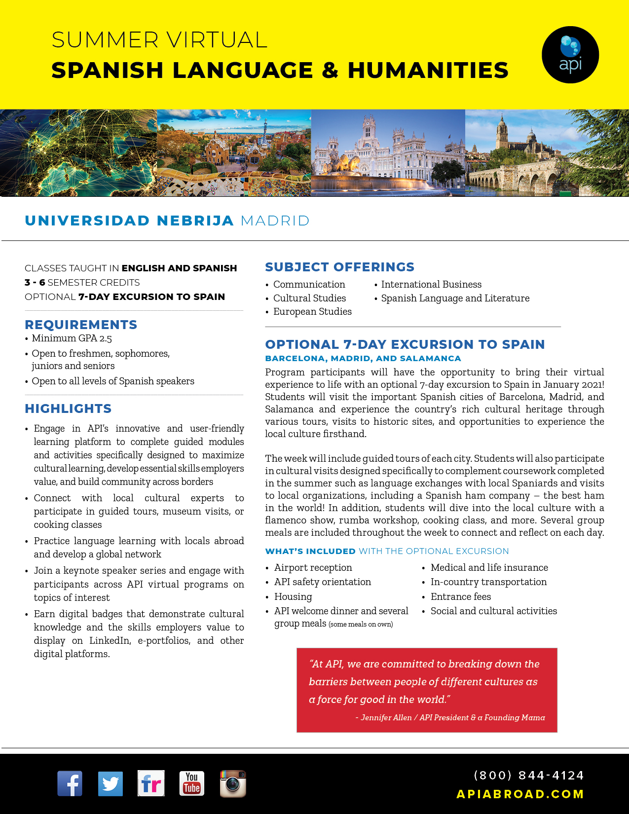 Virtual Study Abroad - Madrid