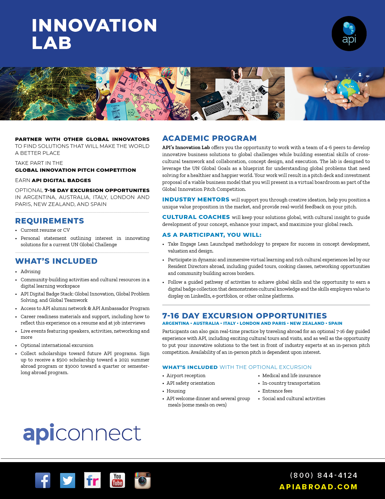 API Innovation Lab Brochure