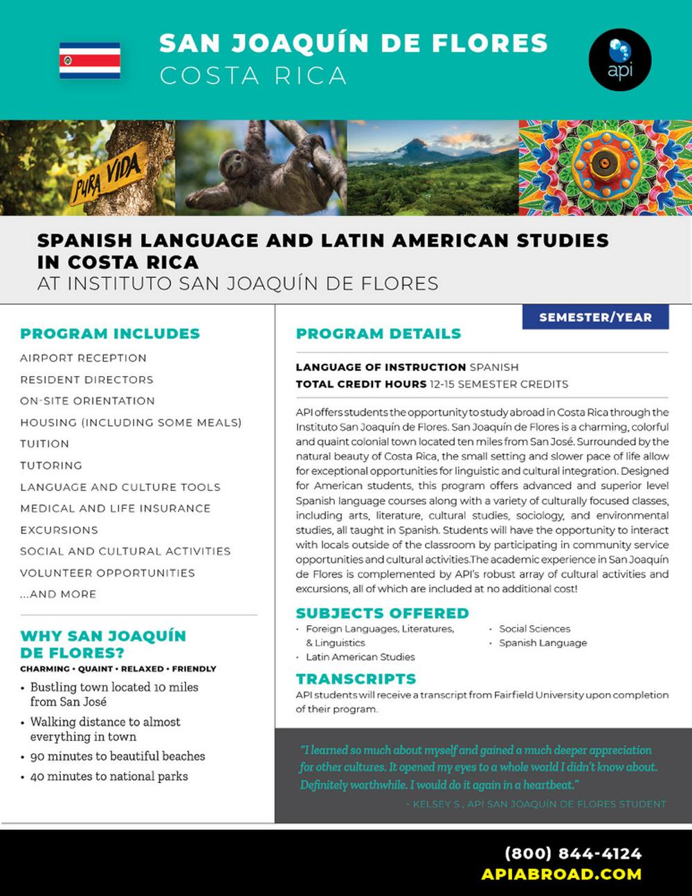 Spanish Language and Latin Ame