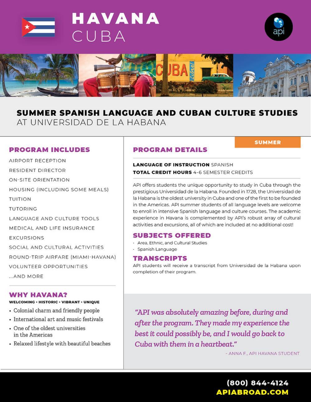 Summer Cuba